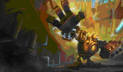 League of Legends. Герой Blitzcrank
