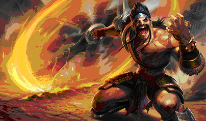 League of Legends. Герой Draven