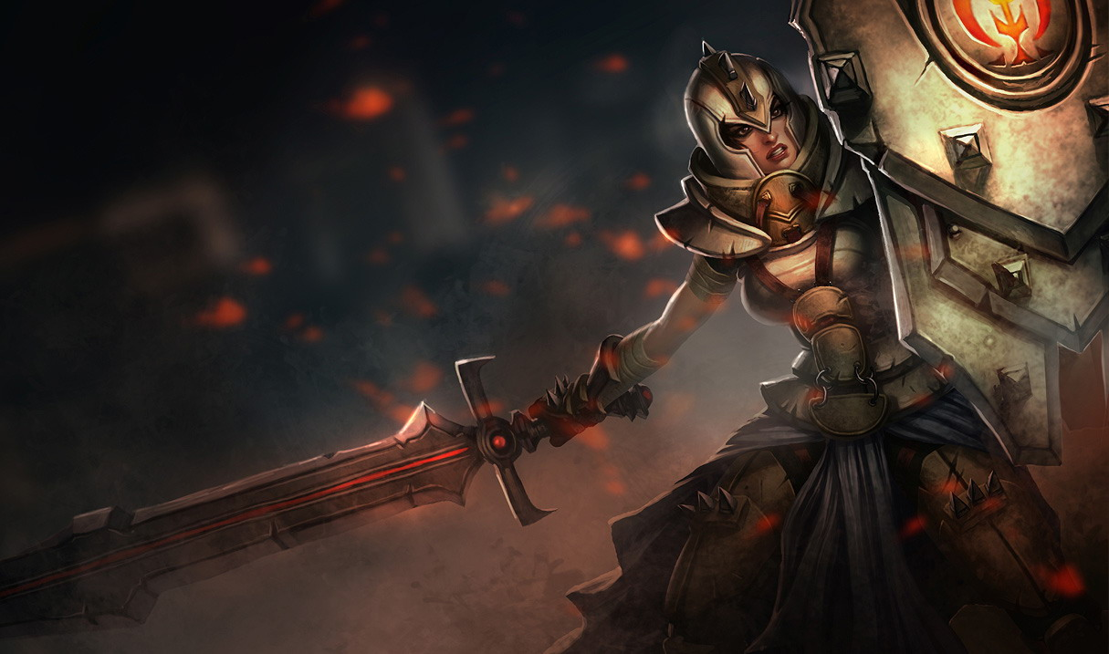 League of Legends. Герой Leona