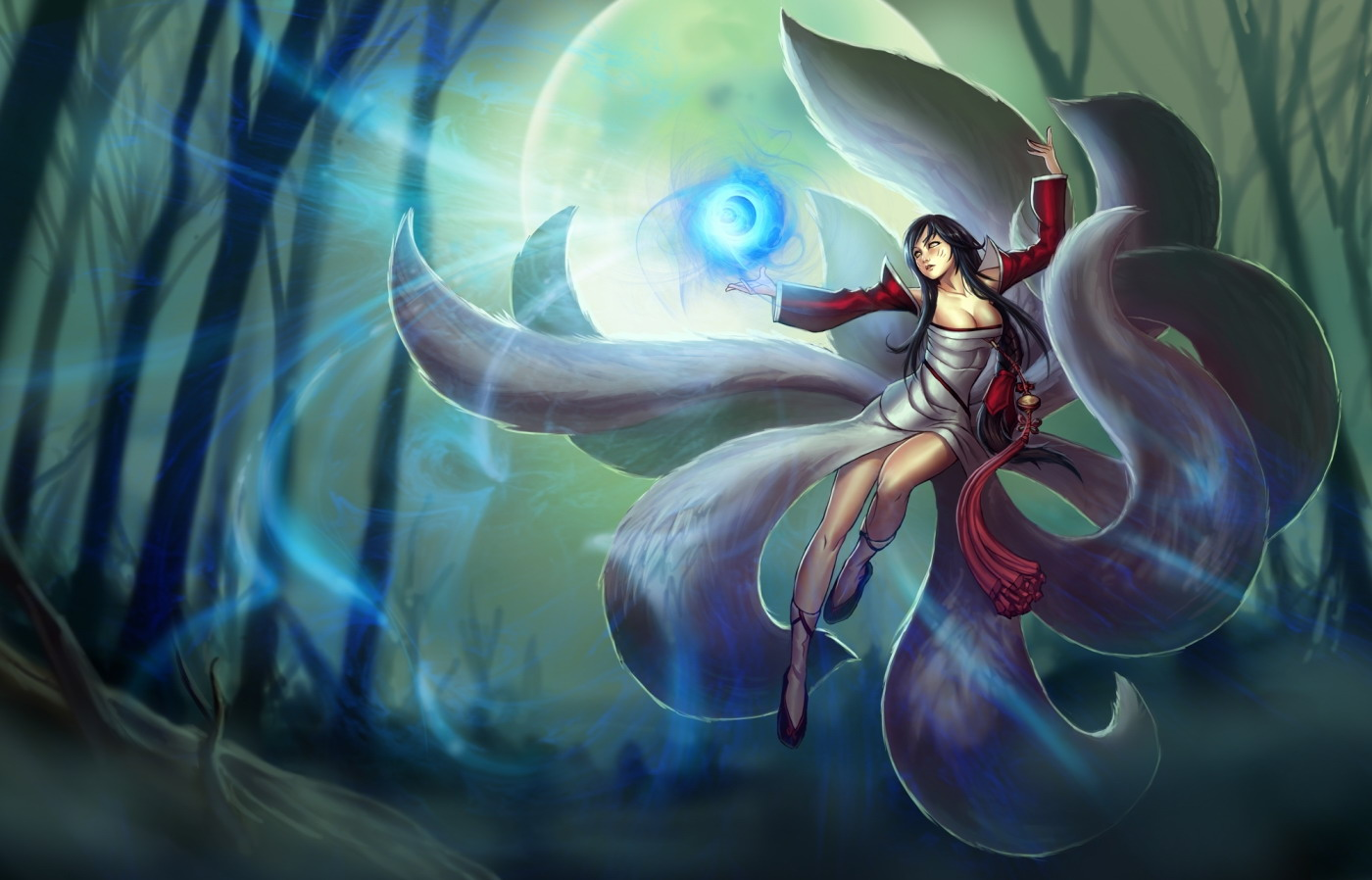 League of Legends. Герой Ahri