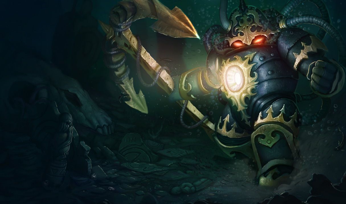 League of Legends. Герой Nautilus