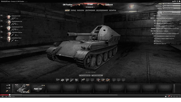 World of Tanks. GW pantera