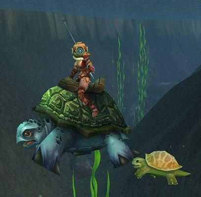 где ловить морскую черепаху 3.3.5